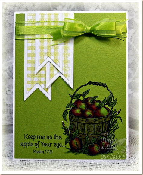 Apples, Our Daily Bread designs