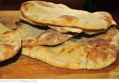 'Mmm...pita bread' photo (c) 2010, jeffreyw - license: http://creativecommons.org/licenses/by/2.0/