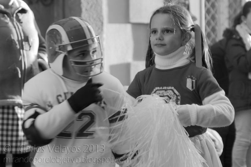 El Quarterback y la Animadora
