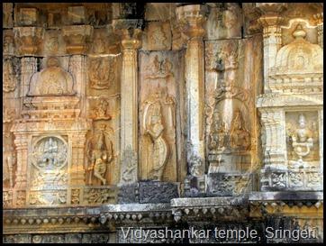 Vidyashankar temple, Sringeri