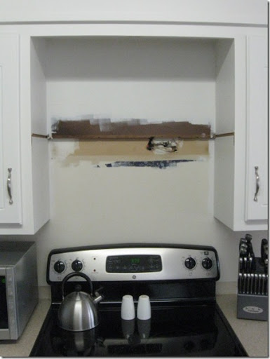 Nice Since Neither That, Nor The Old Cabinet Notches Were Going To Be Seen Sans  Microwave ...