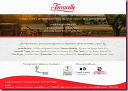 Invito Premio Masseria delle Sorgenti Ferrarelle 14072014