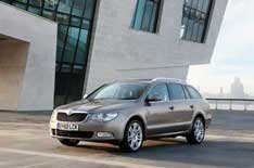 What is it? This is the most efficient version of Skoda's Superb Estate.