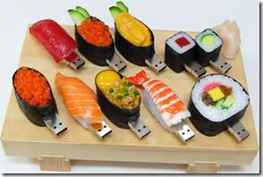 Chiavette USB sushi