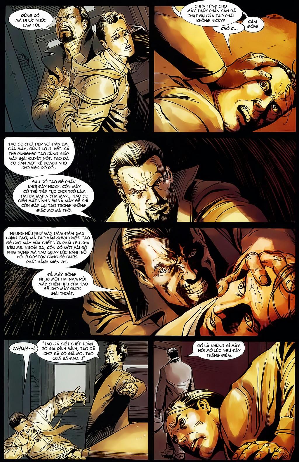 The Punisher: Trên là Dưới & Trắng là Đen chap 4 - Trang 17