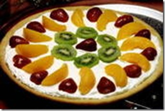 9a Desserts Fruit Dessert Pizza