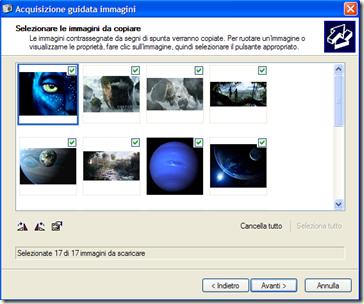 Acquisizione guidata immagini e video