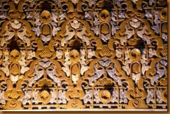 seville, alcazar detail