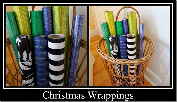 Ribbet collage Christmas Wrappings 2013