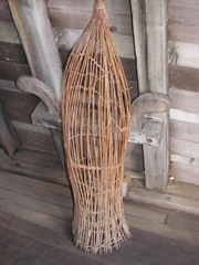 Plymouth Mayflower 8.13 eel fish basket trap