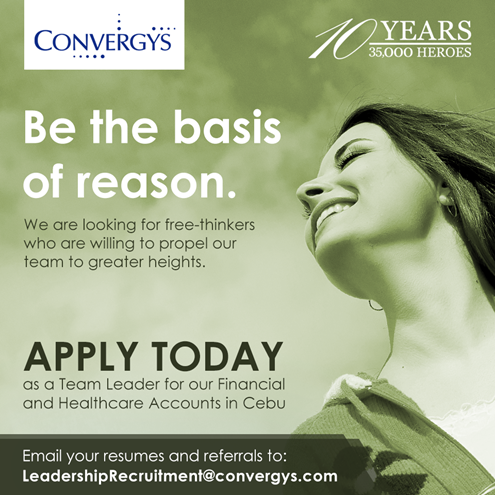 Apply At Convergys