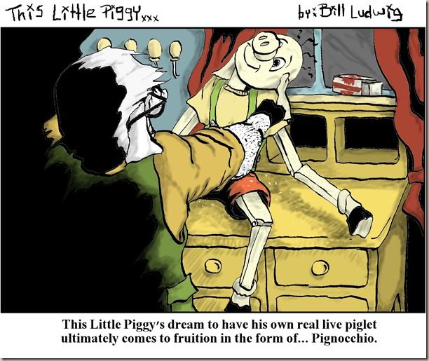 Piggy Pinocchio