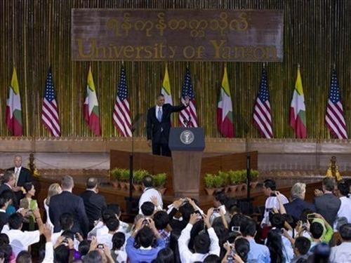 Phát biểu của Tổng thống Obama tại Đại học YANGON