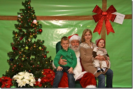 Breakfast with Santa pic