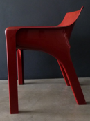 Gaudi armchair, red
