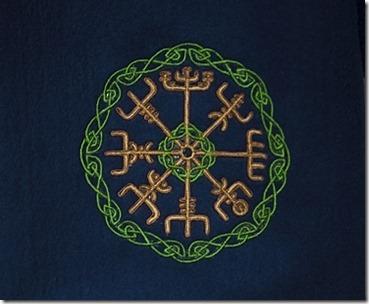 Celtic Runes scarf09