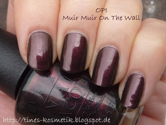 OPI Muir Muir On The Wall 1