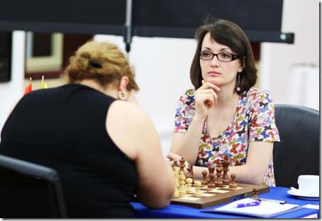 Kateryna Lahno, Ukraine, round 8