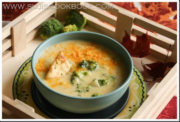 Broccoli cheddar chowder