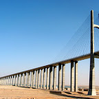 Mubarak's bridge, Suez Canal, Egypt