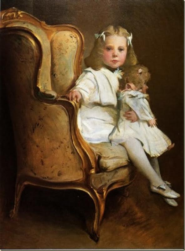 John White Alexander, Fillette et sa poupée