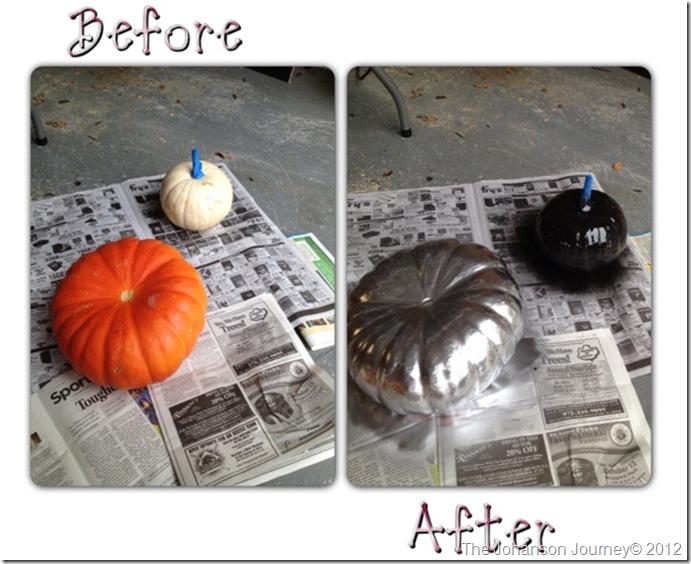 before after pumpkin