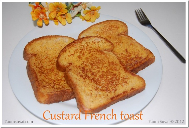 Custard French toast