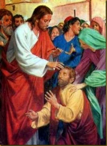 JESUS SANA A MUCHOS