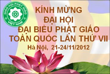 Những hình ảnh đầu tiên về Đại Hội Phật Giáo Việt Nam lần VII