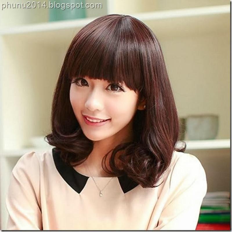 Kiểu tóc mái đẹp phù hợp với gương mặt