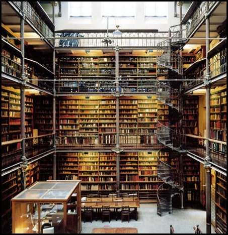 Bibliothèque Rijksmuseum, Amsterdam -2
