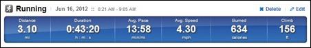 1st 5K time