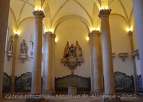 Glória Ishizaka - Mosteiro de Alcobaça - 2012 - Sala dos Reis - 9