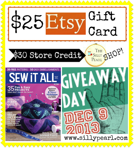 Giveaway Day at The Silly Pearl