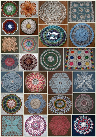 Doily Collage 2011-1