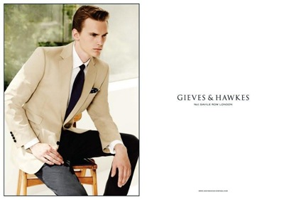 Anthon Wellsjo @ Soul/Ford Homme by Blair Getz Mezibov for Gieves & Hawkes, S/S 2012