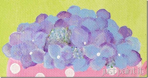 paint hydrangea 4