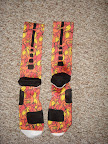 nike basketball elite lebron socks china 1 03 Matching Nike Basketball Elite Socks for LeBron 9 Miami Vice