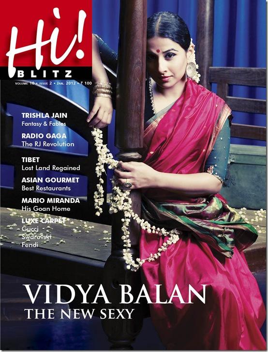 Vidya balan cover