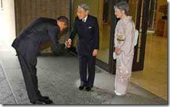 Obama Bows 2
