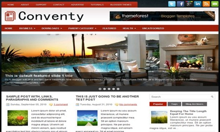 Conventy-Blogger-Template
