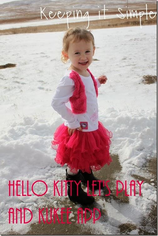 #HelloKittyLetsPlay and #KuKeeapp