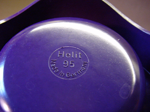 Helit Sinus ashtray, violet