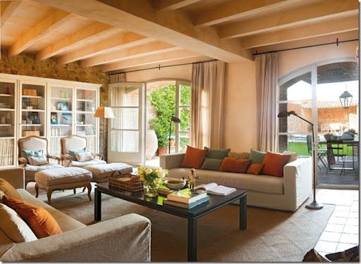 Case Di Campagna Arredamento : Come arredare una casa di campagna cool soggiorno in una casa di