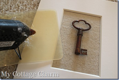 how to frame a skeleton key