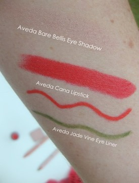 Aveda Petal Essence swatches
