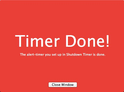 2mac app utilities shutdowntimer