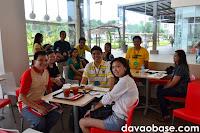 Davao Bloggers at Go Nuts Donuts Abreeza