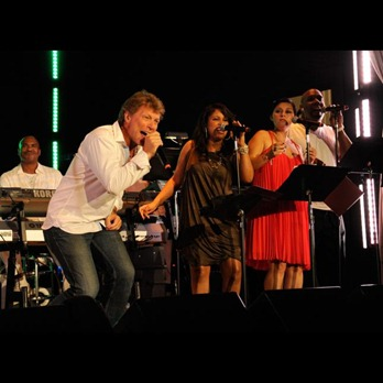 Jon Bon Jovi performs at 2011 Apollo in the Hamptons