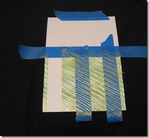 herringbone notecard masked